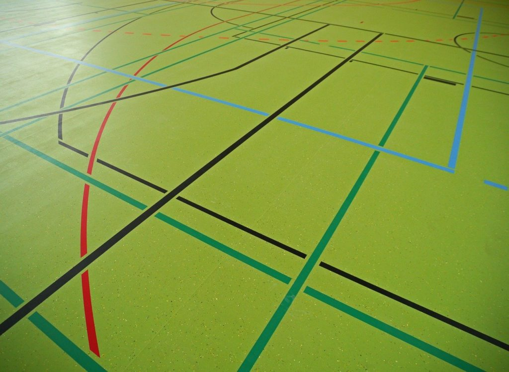sports hall, hall floor, multiple hall